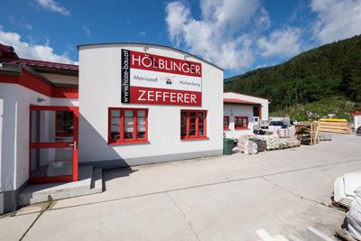 Baustoffhandel Filiale Hohenberg